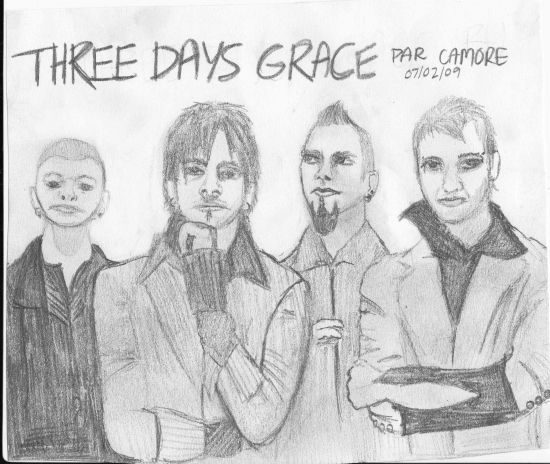 Three Days Grace by Camore